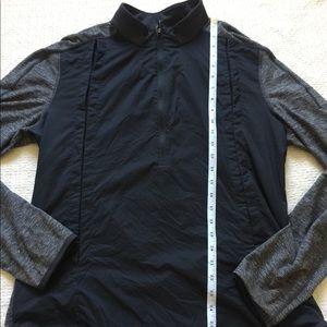 Lululemon Reversible Black & Gray Zip Jacket 12